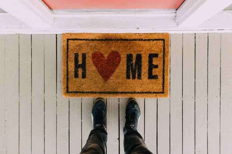 Door Mat, representing buy a Lake Norman home