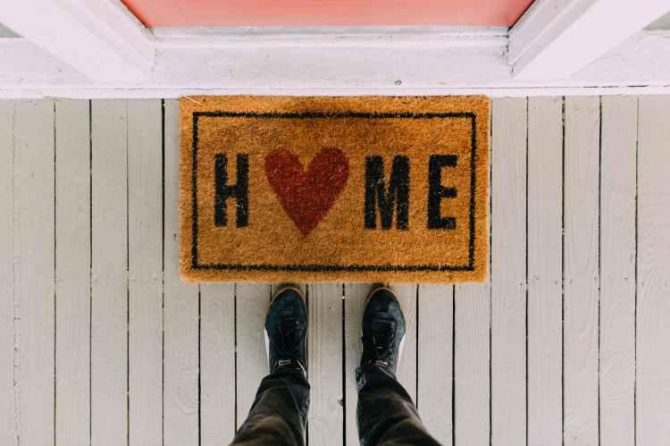 Door Mat, representing buy a Lake Norman home